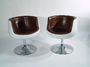 Replica Aarnio cognac chair