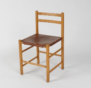 Set of wooden chairs