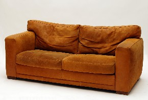 Leather sofa IV.