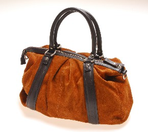 Leather handbag II.