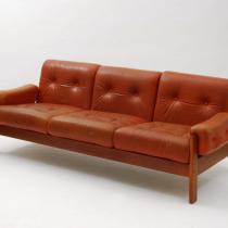 Leather sofa V.