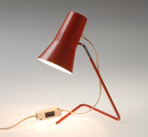 Table lamp Drupol 21616, red