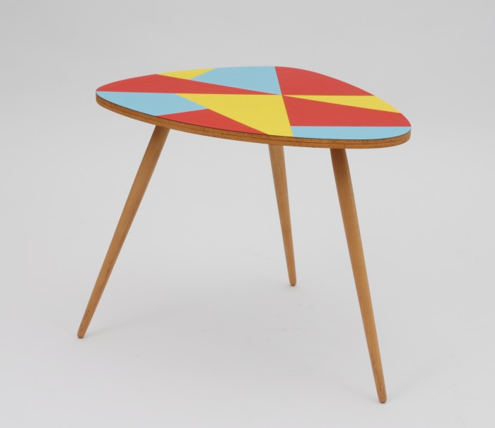 Retrofactory Colored Formica Coffee Table