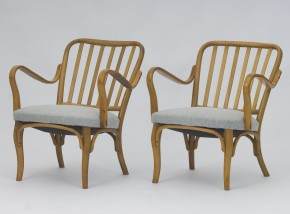 Pair of Armchairs Josef Frank No. 752